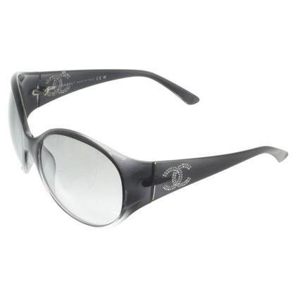 Chanel Occhiali da sole con strass