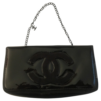 Chanel clutch in nero