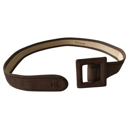 Karl Lagerfeld Cintura in pelle