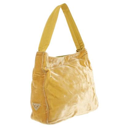 Prada Handtasche in Gelb