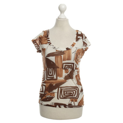 Mani top in Brown