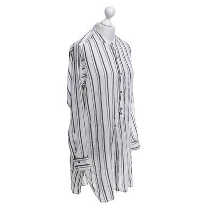 Isabel Marant Striped Top in bianco / nero