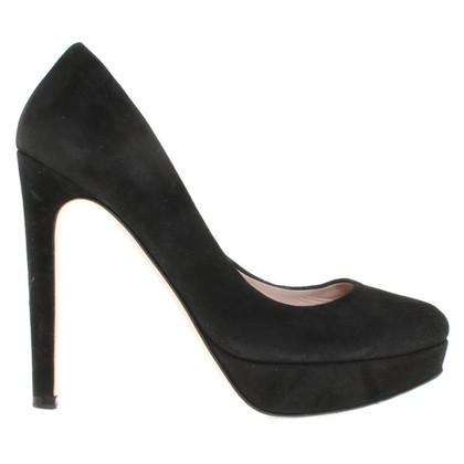 Miu Miu Suede pumps in black