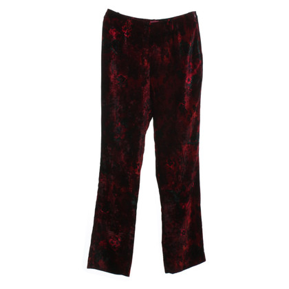 Kenzo Samthose with floral print