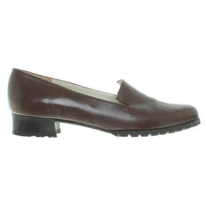 Bally Leather shoe boots in Brown