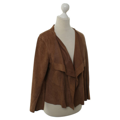 Marc Cain Wildlederjacke in Braun