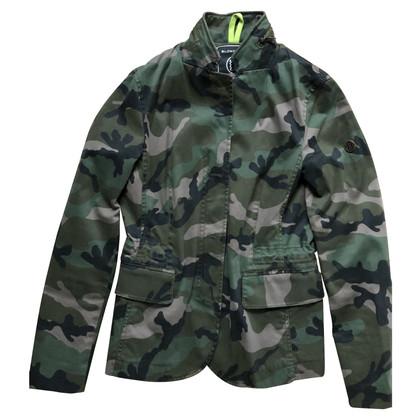 Blonde No8 Jacke mit Camouflage-Muster