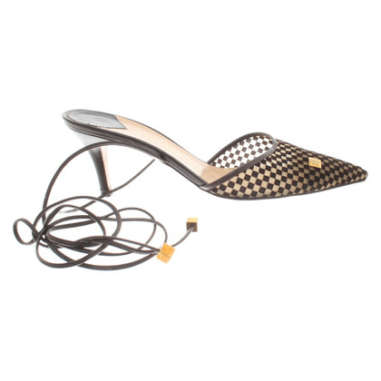 Louis Vuitton Pumps mit Damier-Muster