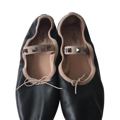Valentino Rockstud ballerinas
