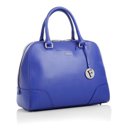 Furla Blaue Handtasche