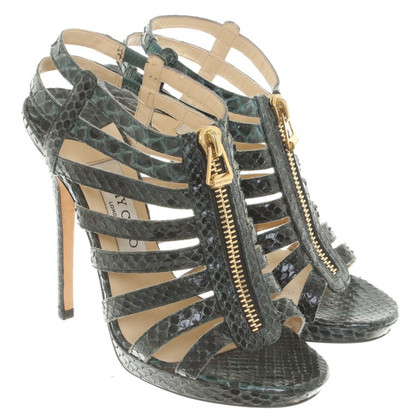 Jimmy Choo Sandals Snakeskin