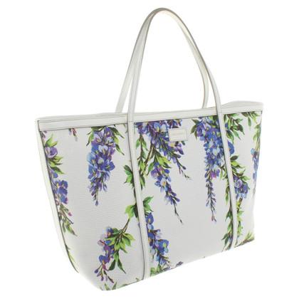 Dolce & Gabbana Gli amanti dello shopping con un motivo floreale