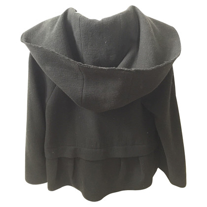 Philosophy di Alberta Ferretti Ruffle Jacket with hood