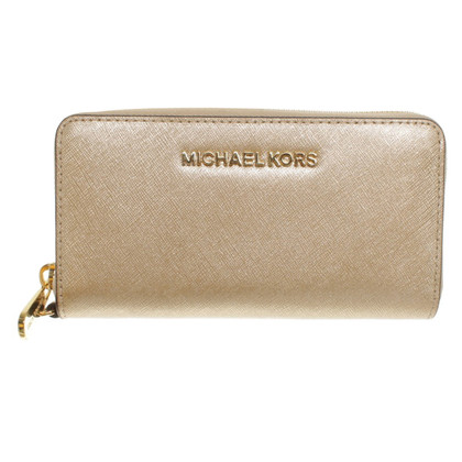 Michael Kors Gold colored wallet