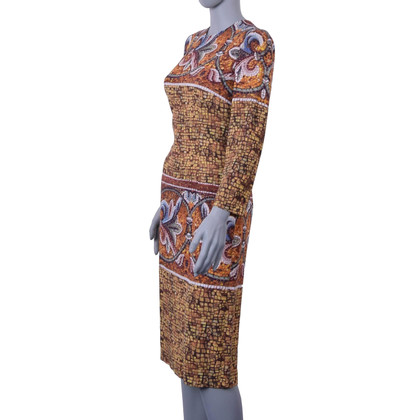 Dolce & Gabbana Sheath dress with mosaic print