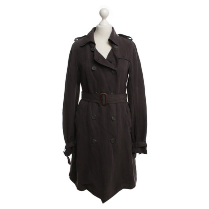 Maison Scotch Trench coat in brown