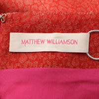 Matthew Williamson skirt with pattern