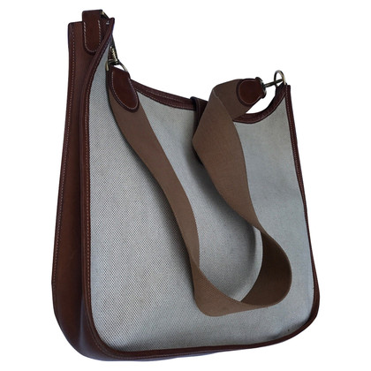 """Hermès """"Evelyne GM"""" from canvas / leather"""