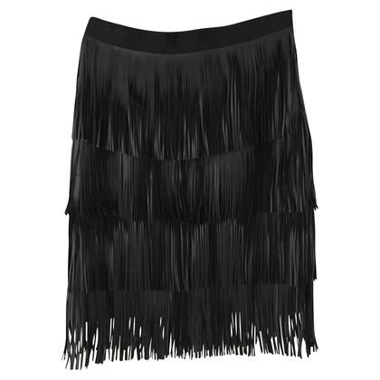 Day Birger & Mikkelsen Fringe skirt made of artificial leather