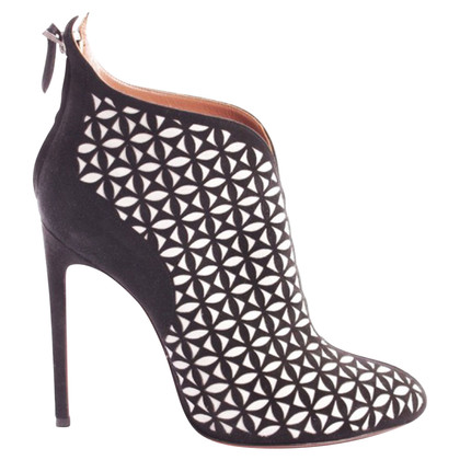 Alaïa Ankle boots in black and white