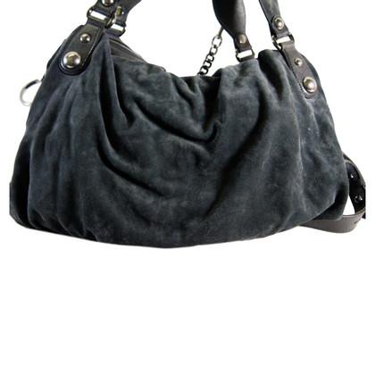 Gucci Wildleder-Handtasche