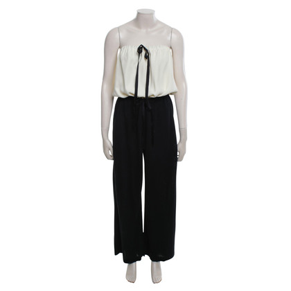 Chanel Jumpsuit with silk portion