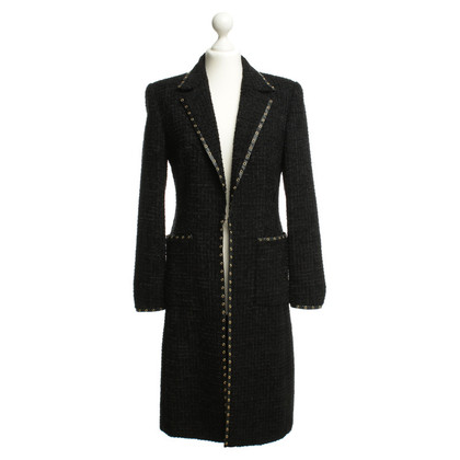 Escada Black coat with structure