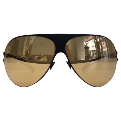 Mykita Sonnenbrille mit Gold-Beschichtung