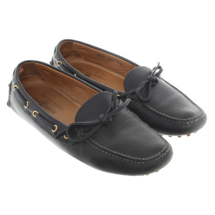 Car Shoe Mokassins aus Leder