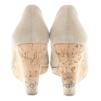 Calvin Klein Wedges in Beige