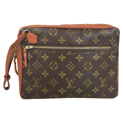 Louis Vuitton Clutch aus Monogram Canvas