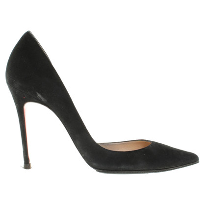 Christian Louboutin Pumps aus Wildleder