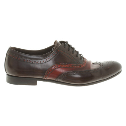 Prada Pizzo in Black / Red