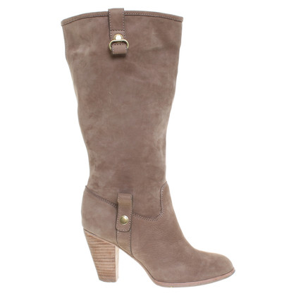 Marc Jacobs Lederstiefel in Naturfarben