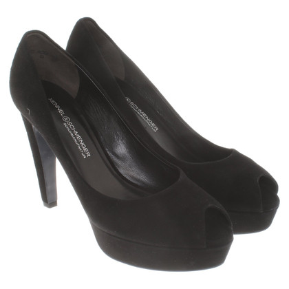 Kennel & Schmenger pumps in black suede