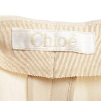 Chloé trousers in cream