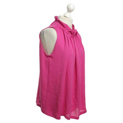 Marc Cain camicetta senza maniche in rosa