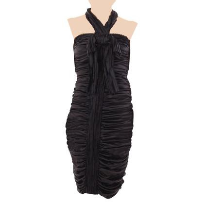 Dolce & Gabbana zijden jurk met ruches