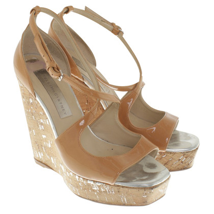 Stella McCartney Wedges in beige