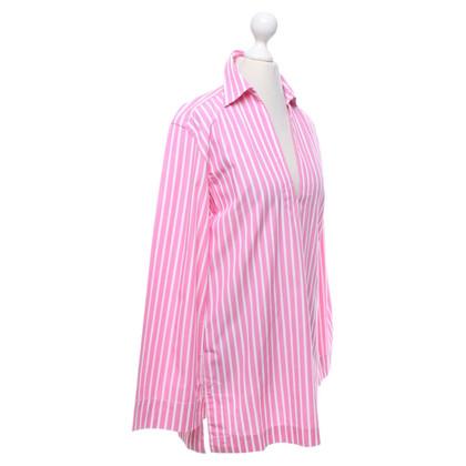 Ralph Lauren Gestreept overhemd in roze / wit