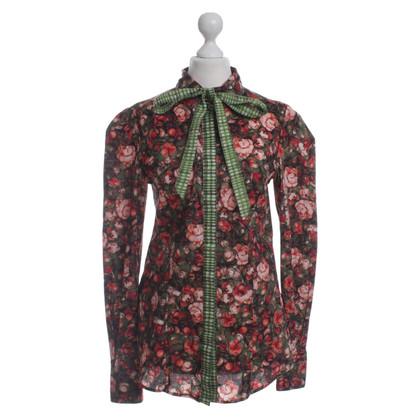 Just Cavalli Bluse mit floralem Muster