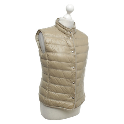 Mabrun Quilted vest in beige