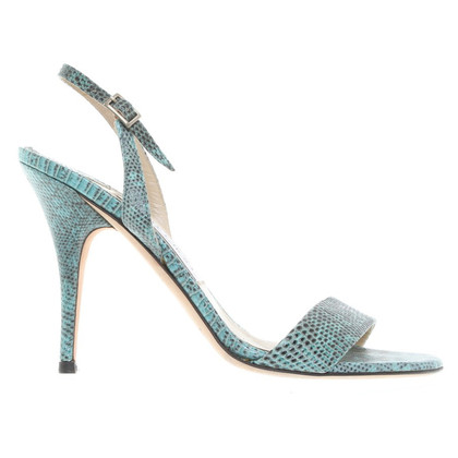 Jimmy Choo Sandals made of embossed leather