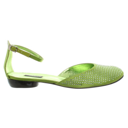 Sonia Rykiel Ballerinas in green