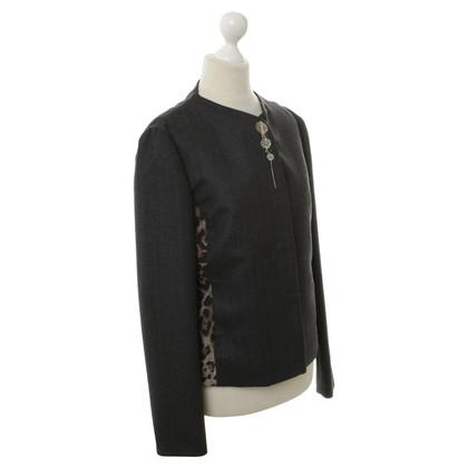 Pollini Jacket with Pinstripe