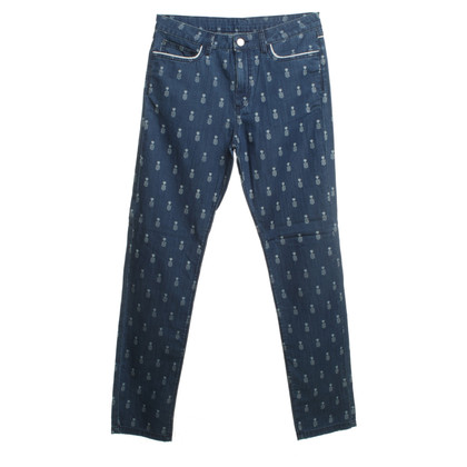 Manoush Jeans with pineapple pattern