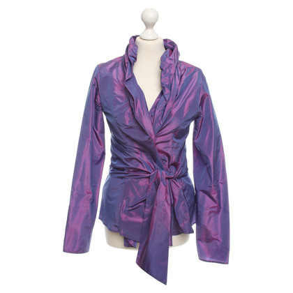 Etro Silk-blazer in violet