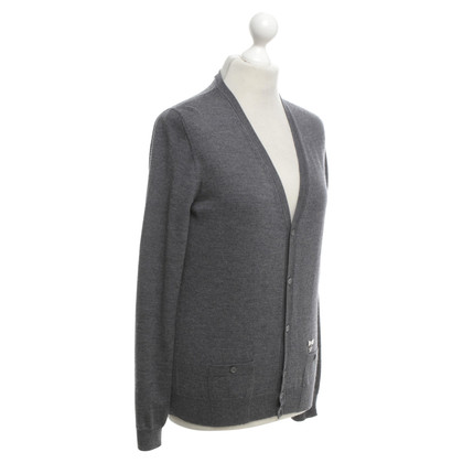 Dsquared2 Cardigan in meliertem Grau