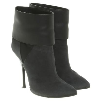 Giuseppe Zanotti Ankle boots in grey / black