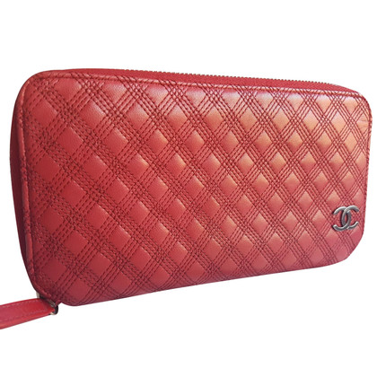 Chanel Portemonnaie in Rot